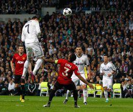 Cristiano Ronaldo llegó a volar a casi tres metros en el gol