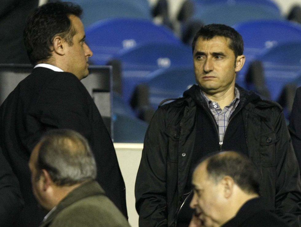 El agente de Valverde tantea el futuro social del Valencia
