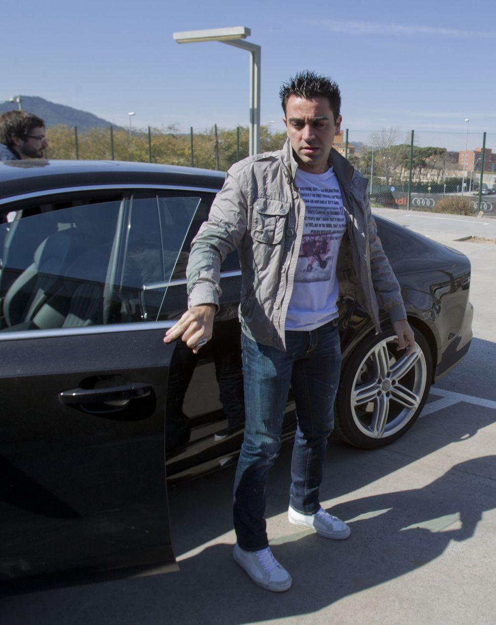 Xavi, Villa y Abidal se quedan fuera de la lista para Granada