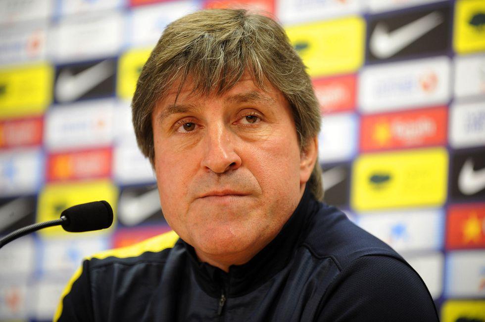 """Roura: """"No atiendo rumores, mis porteros son Valdés y Pinto"""""""