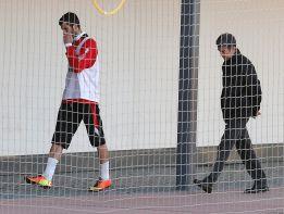 Baptistao vuelve a no entrenarse y es duda para el Bernabéu