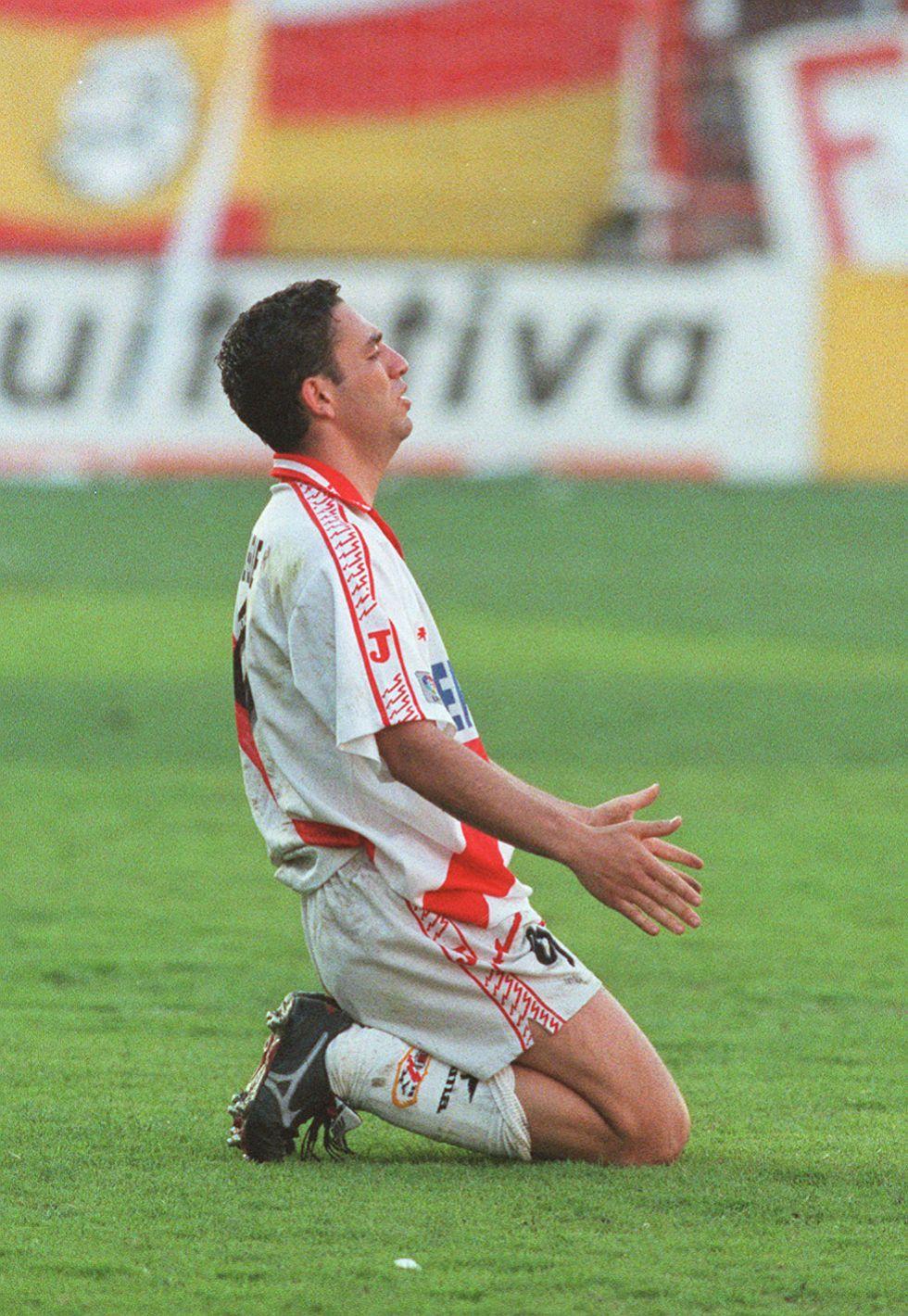 """""""La victoria en el Bernabéu del Rayo en 1996 me dejó marcado"""""""
