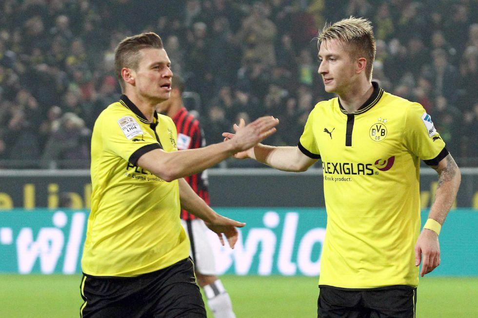 El Borussia Dortmund no falla con el Eintrach y sigue segundo