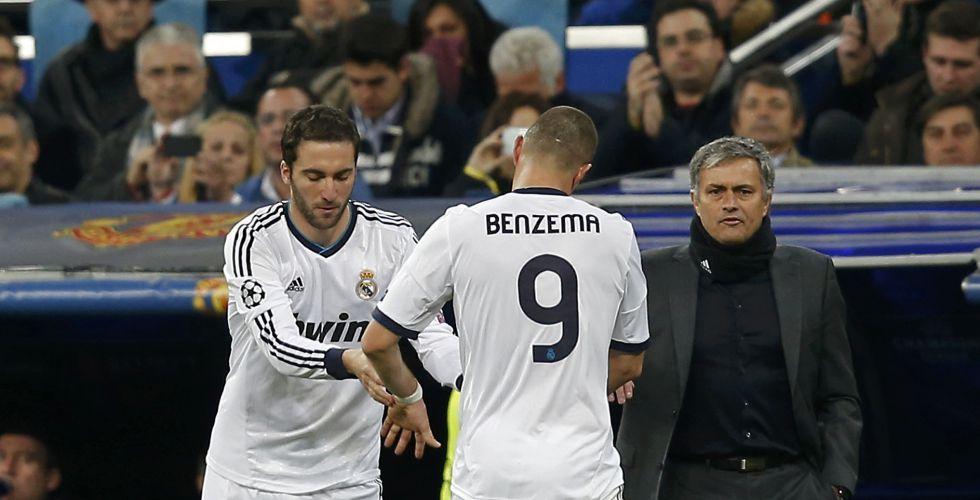 A Gonzalo Higuaín y a Benzema se les está agotando el crédito