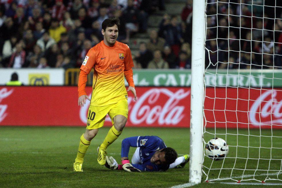Messi: 301 con el Barcelona