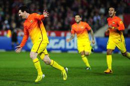 Messi juega otra Liga