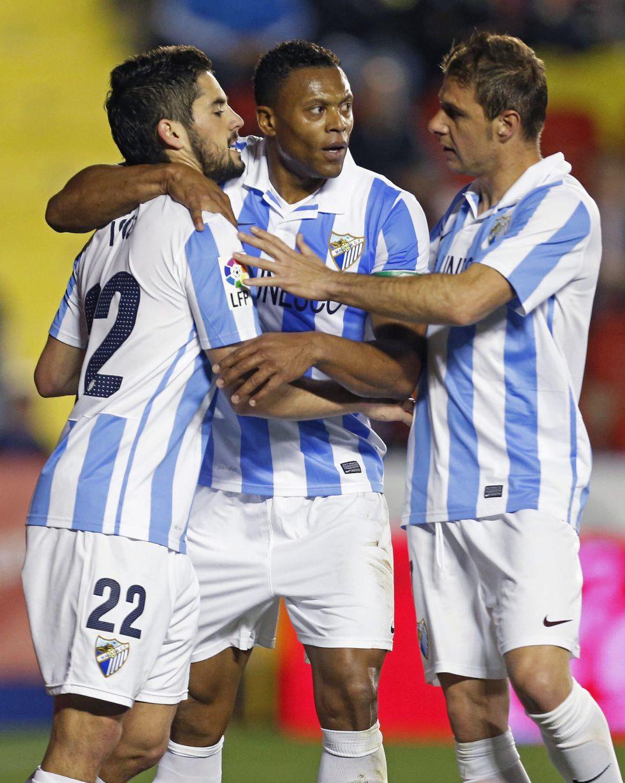 El Málaga viajará a Oporto con toda la plantilla disponible