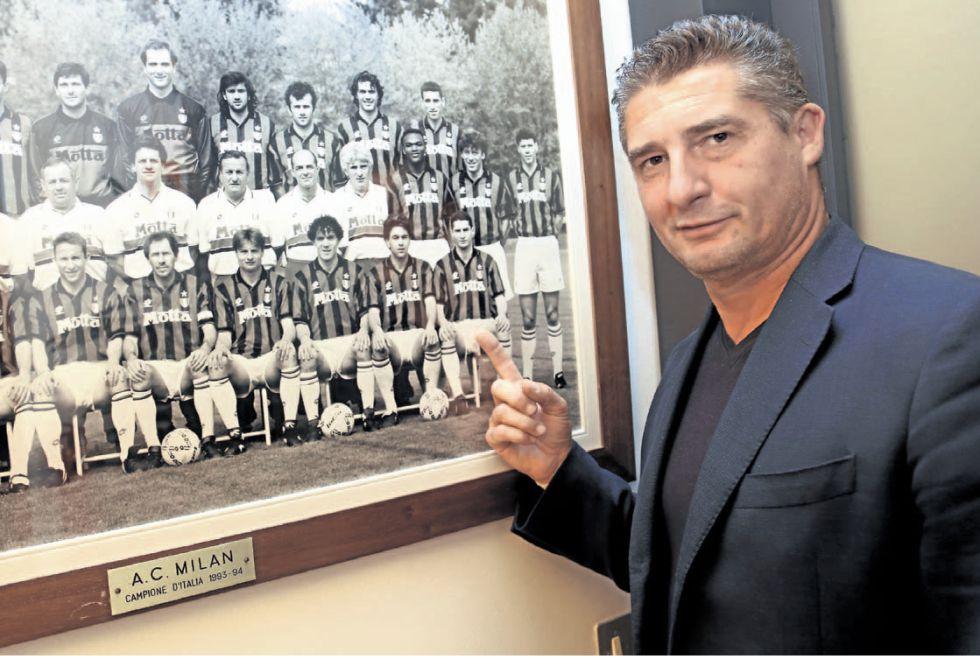 """""""Le pedí un autógrafo a Cruyff antes de jugar la final del 94"""""""