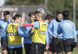 Herrera reúne a sus jugadores para analizar la crisis celeste