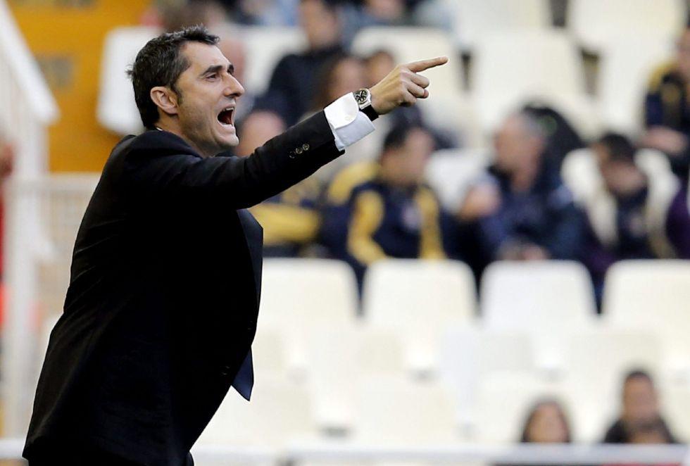 """Ernesto Valverde: """"El mérito de la victoria ha sido extraordinario"""""""