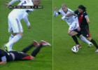 Pepe y el Chori se picaron durante el partido del Bernabéu