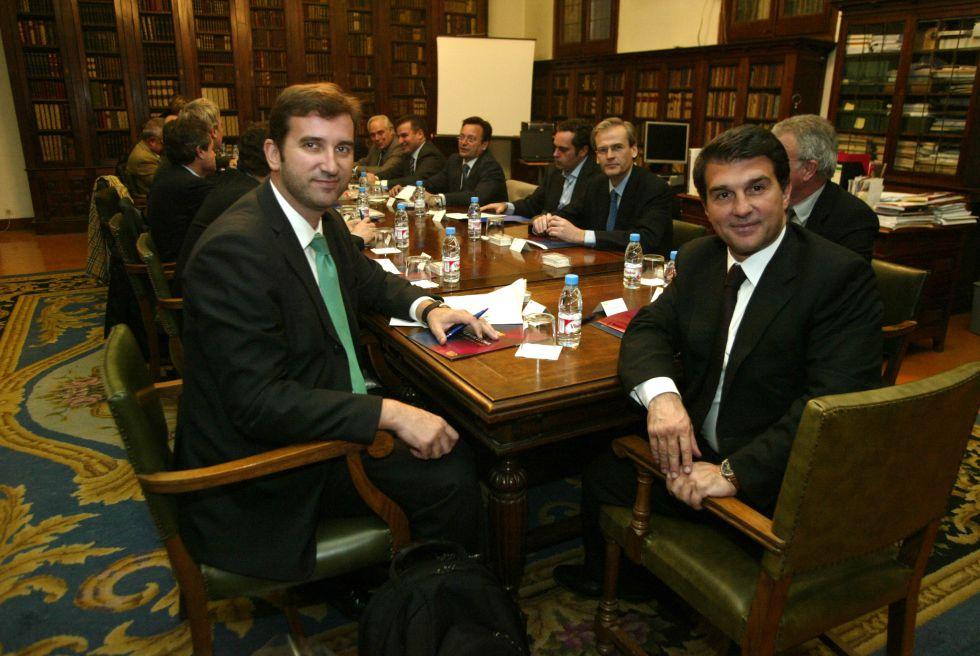 El Barcelona, acusado de espiar a empleados en la era Laporta