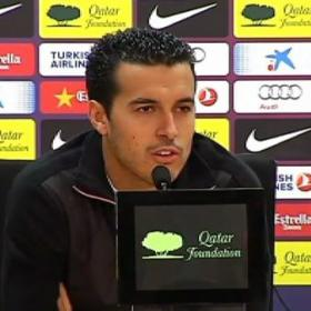 "Pedro on Messi: ""Team-mates always argue with each other"""