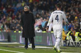 Ramos, el que más rojas ha visto en la historia del Madrid: 16