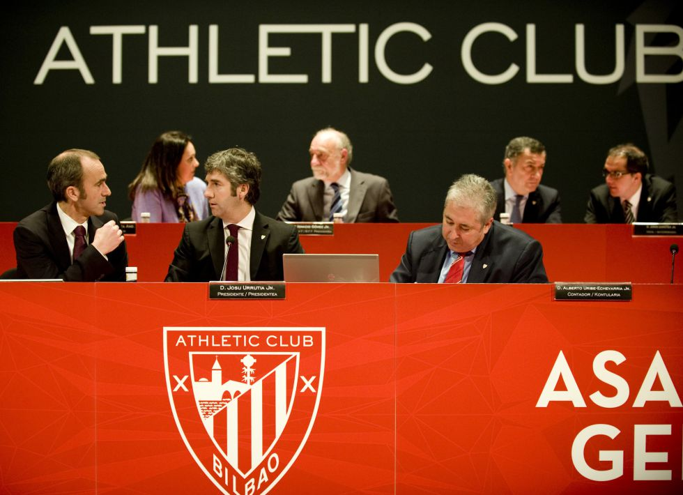 El Athletic aprueba las cuotas para San Mamés Barria