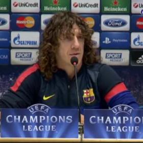 "Puyol: ""We have great respect for AC Milan"""