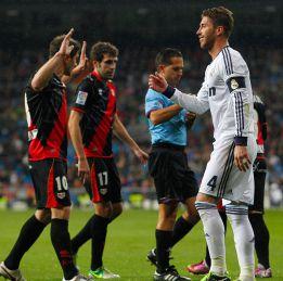 Sergio Ramos, el más expulsado en la historia del Madrid