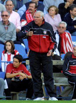 Luis y Zamora, referentes en el banquillo del Atlético