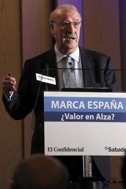 """Del Bosque: """"No creo que en el Madrid me echen de menos"""""""