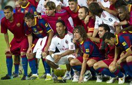 Quince futbolistas han podido jugar en los dos equipos