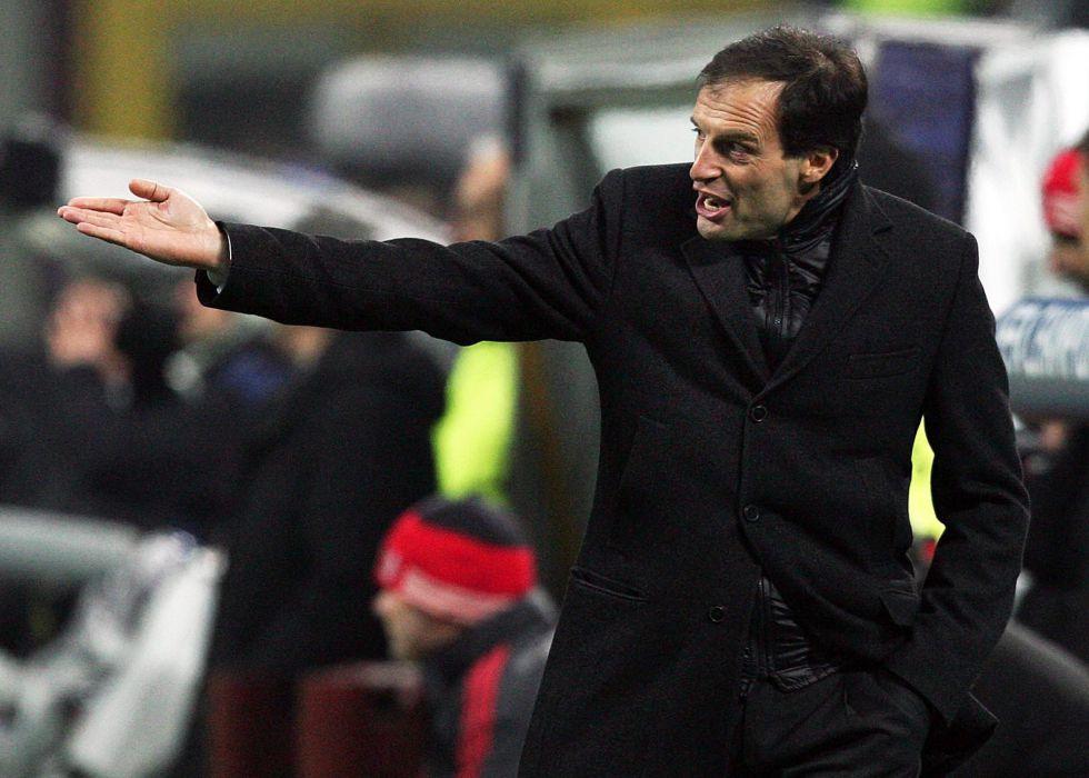 """Allegri: """"Fue un gran partido y el Milán mereció este resultado"""""""