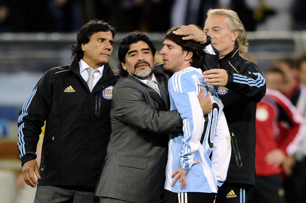 """Maradona: """"Veía condiciones de líder a Messi; no me equivoqué"""""""