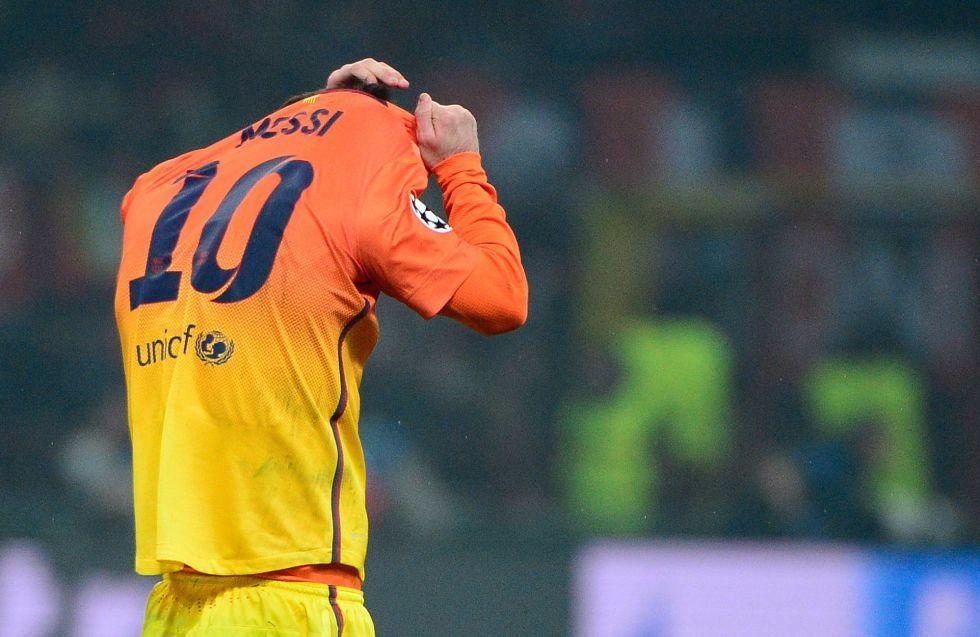 Leo Messi: cero goles de jugada a los equipos italianos