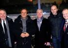 Zidane espía a Bale en Lyon