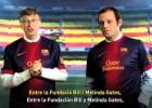 Bill Gates se alía con el Barça para luchar contra la polio