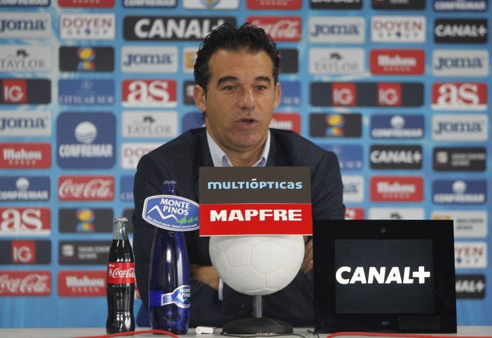 """Luis García: """"Es el momento de volver a sumar fuera de casa"""""""