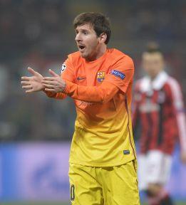 """Leo Messi: """"Confiamos en la revancha ante el Milán"""""""