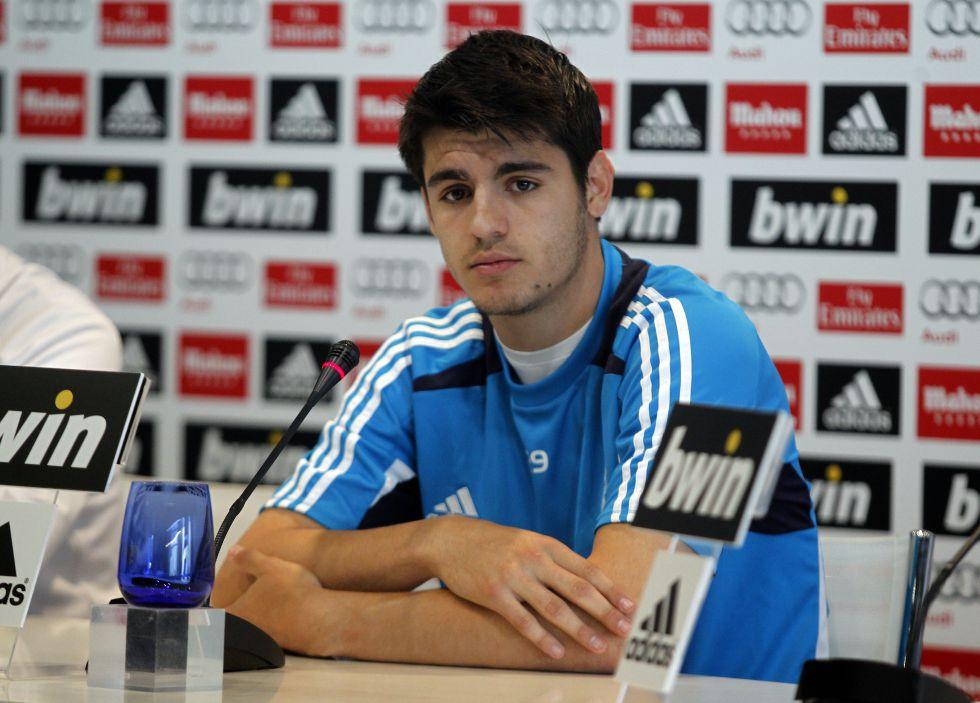 """Morata: """"Mourinho no me quitó por canterano sino por ariete"""""""