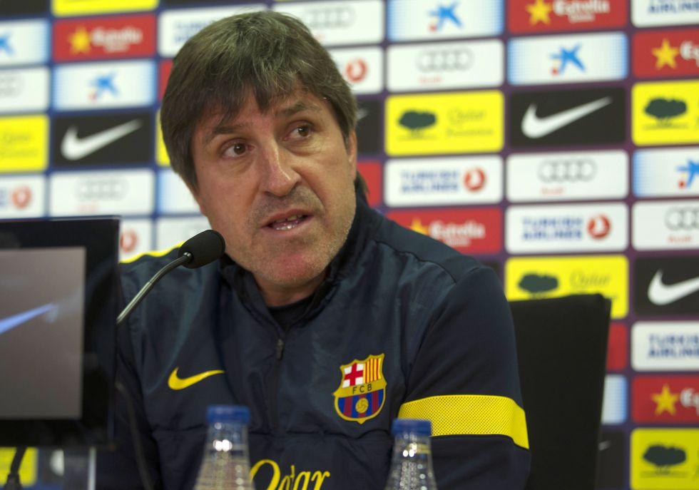 """Roura: """"Si un equipo merece crédito y respeto, es el Barça"""""""