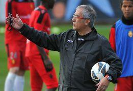 """Gregorio Manzano: """"Únicamente pensamos en ganar al Getafe"""""""