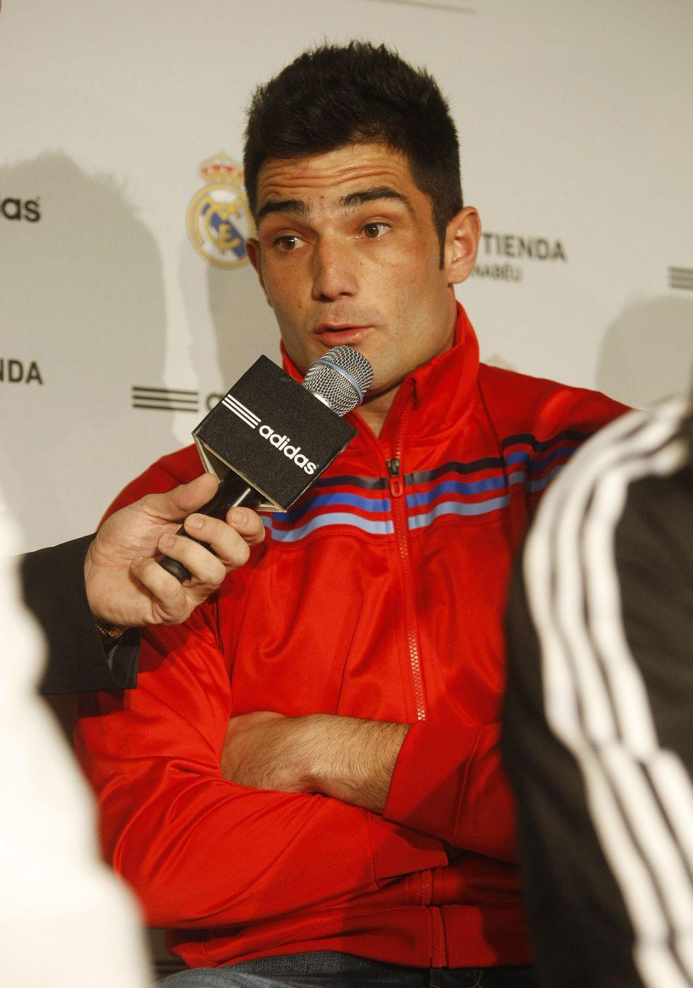 """Adán: """"No me rindo y me siento un privilegiado en el Madrid"""""""