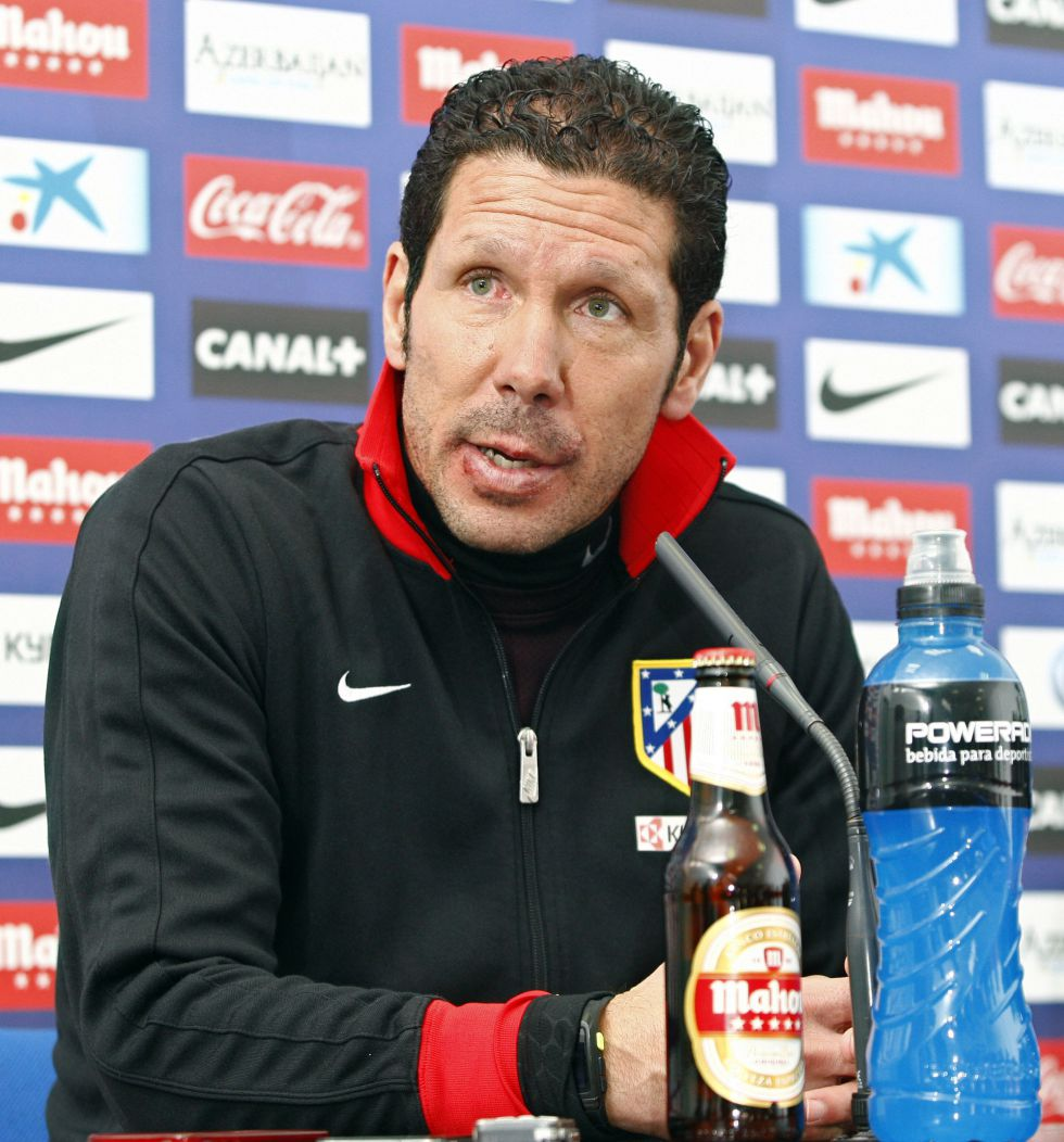 """Simeone advierte: """"La Liga es el corazón de los hinchas"""""""