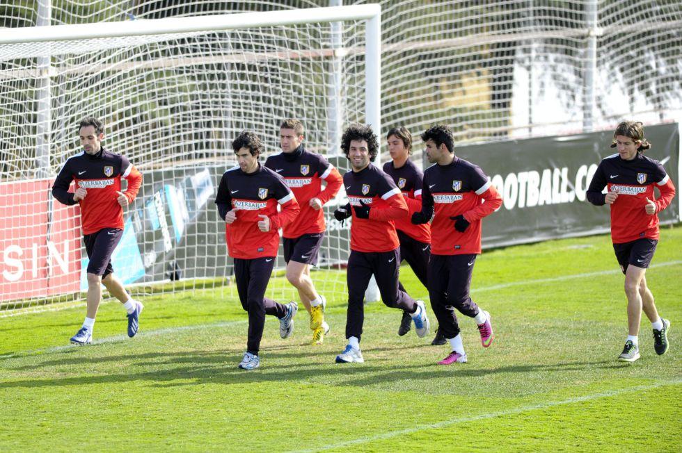 El Atlético recibe al Espanyol con todos sus efectivos