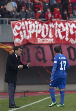 """Luis García: """"La victoria es justa y tenemos que seguir así"""""""