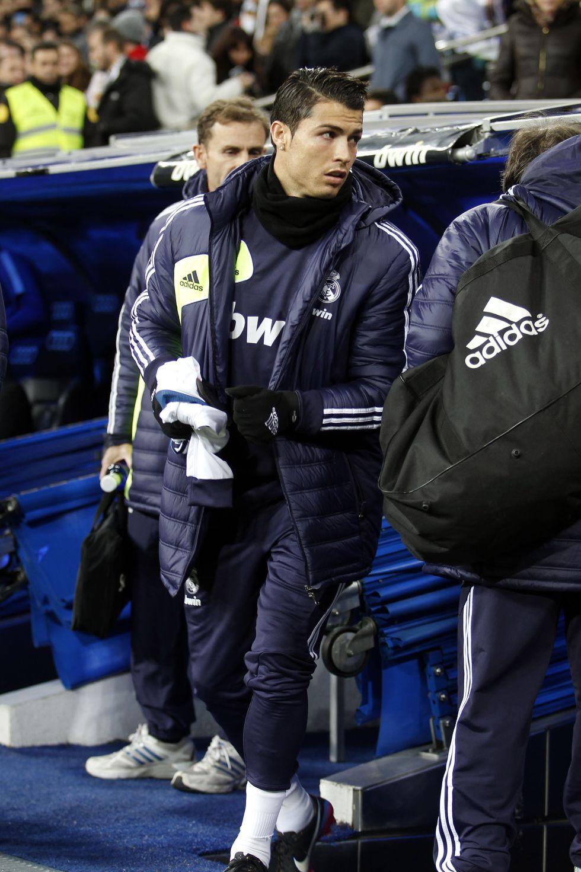 Mourinho reservó a Cristiano