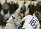 Polémico final con un gol de Postiga anulado por Del Cerro