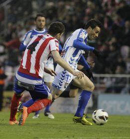 Iago y Óscar Díaz rompen la maldición del Lugo en febrero