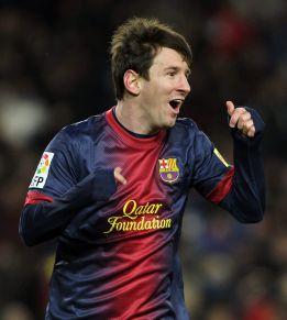 Messi sigue elevando su récord: 15 jornadas seguidas marcando