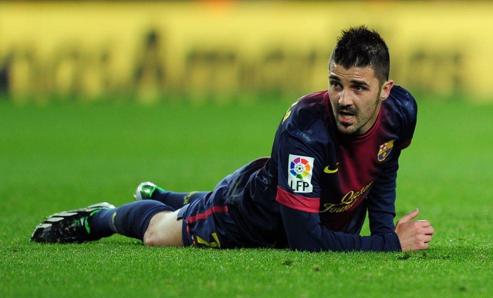 David Villa sobrevive en este Barça a pesar de Messi