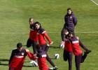 Diego Costa, en el gimnasio y el Atlético piensa en la Copa