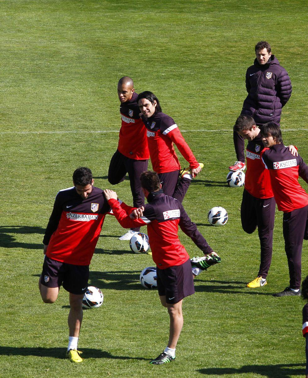Diego Costa, en el gimnasio y el Atlético ya piensa en la Copa