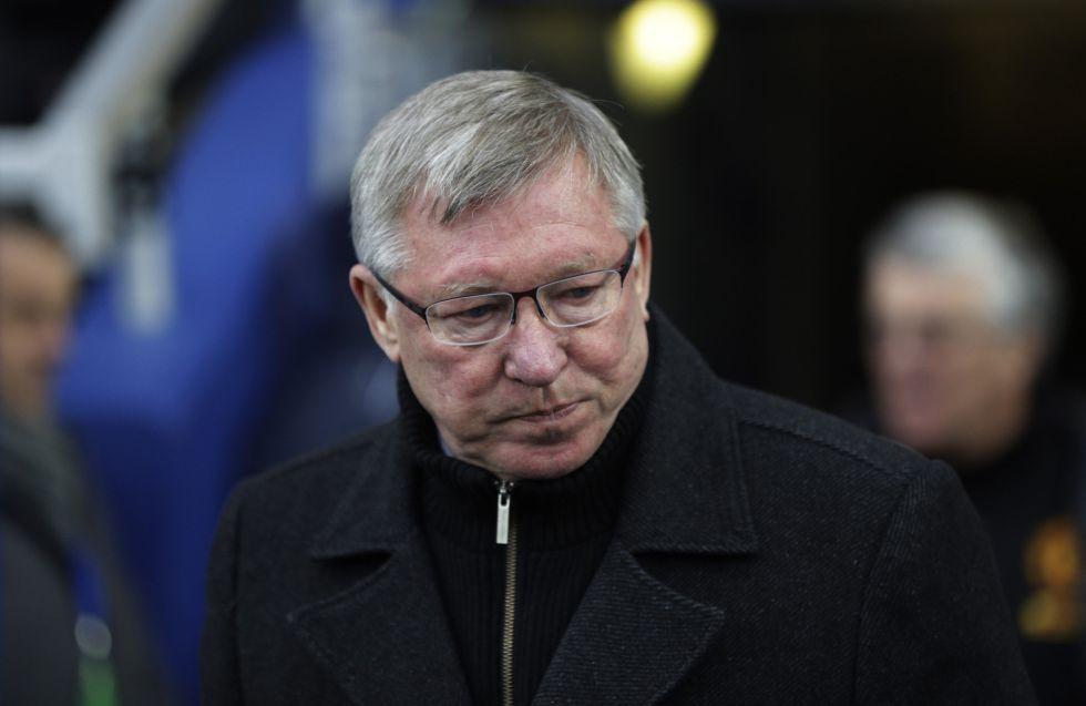 Ferguson acude al Clásico para espiar al Madrid en directo