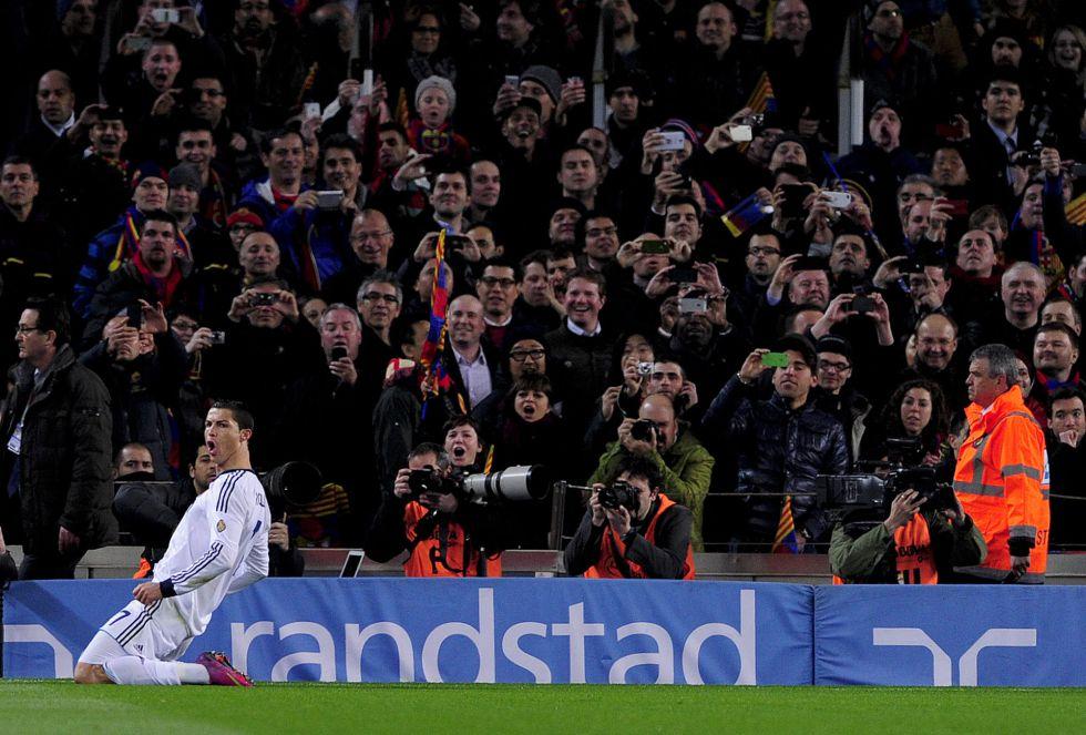 Cristiano, seis partidos seguidos marcando en el Camp Nou