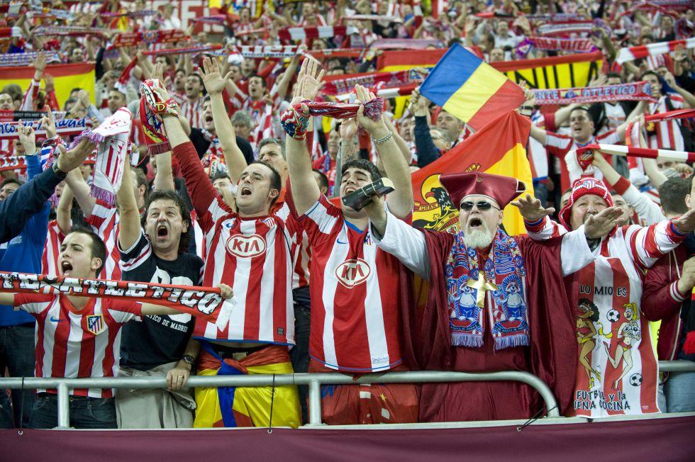 Mil seguidores atléticos acuden hoy en el Sánchez Pizjuán