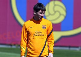 Messi, con un proceso febril y malestar general, no se entrena