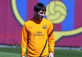 Messi, con un proceso febril y malestar general, no se entrena